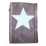 Leather-journal-StarGrey