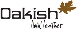 Logo Oakish   livin' leather